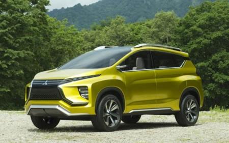 Mitsubishi mostró las primeras imágenes de la XM Concept, la base para su siguiente SUV