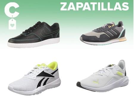 Chollos en tallas sueltas de  zapatillas Reebok, Adidas o Nike en Amazon