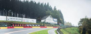 Rodamos en Spa-Francorchamps con la gama F de Lexus: circuito mítico y V8, combinación ganadora