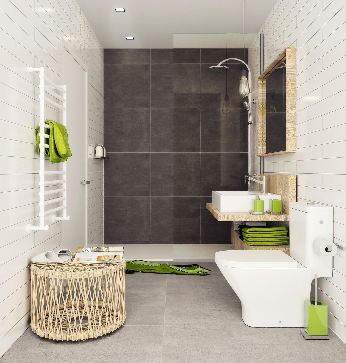 """Inspiración """"deco""""; 15 baños en blanco y negro que nos demuestran que con  este binomio es difícil fallar en el cuarto de baño"""