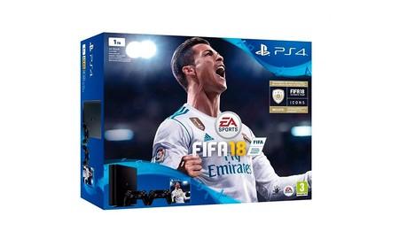 Mediamarkt te ofrece esta semana la PS4 Slim con FIFA 18 y un segundo DualShock por sólo 319 euros