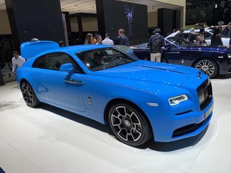 Rolls-Royce Wright azul - Salon De Ginebra 2019