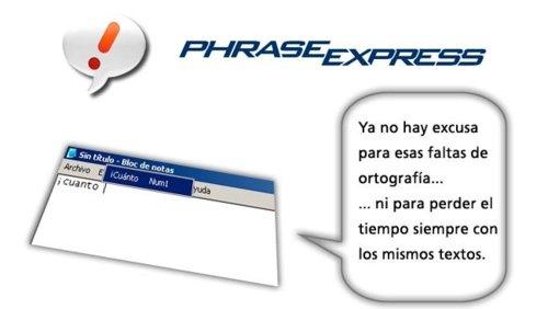 PhraseExpress:abreviaturas,textosautomáticosymuchomás