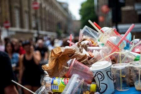Prohibido Popotes Bolsas Plastico