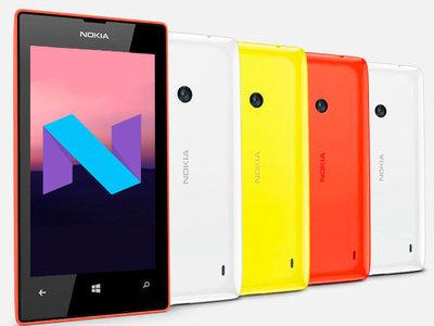 La actualización a Android 7.1 Nougat sigue su camino... y llega al Nokia Lumia 520