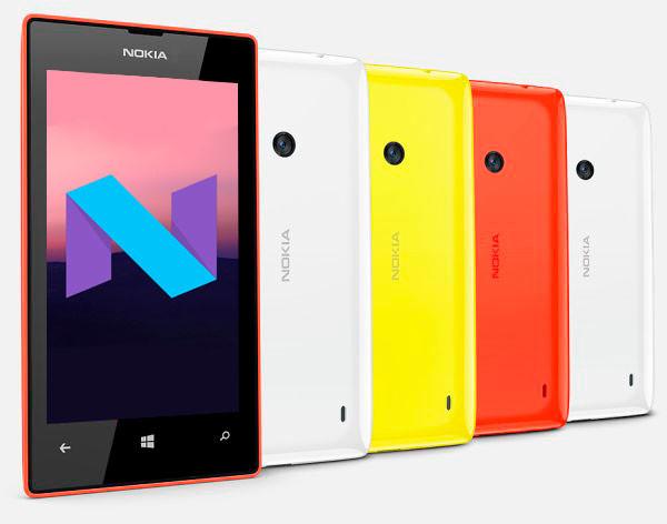 Nokia Lumia 520 Nougat