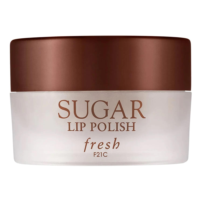Exfoliante de labios de azúcar moreno de Fresh