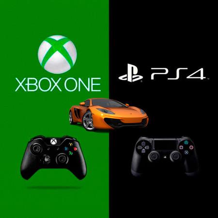 Xbox One Ps4 Y Los Juegos De Coches En Su Lanzamiento