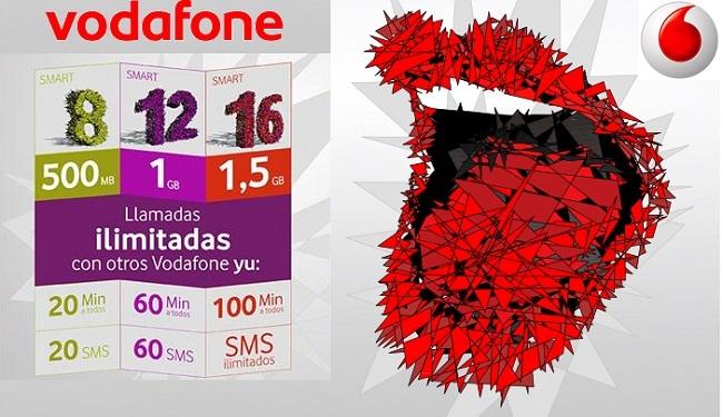 Más internet móvil gratis con Vodafone yu