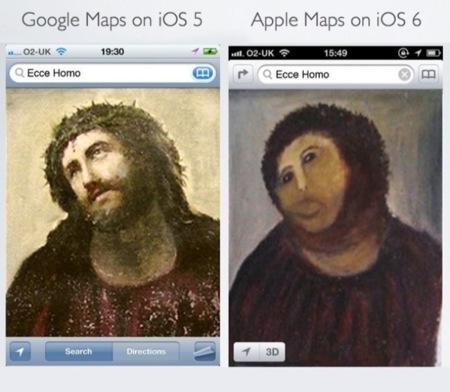 Imagen de la semana: análisis (con mucho humor) de los mapas de Apple en iOS6