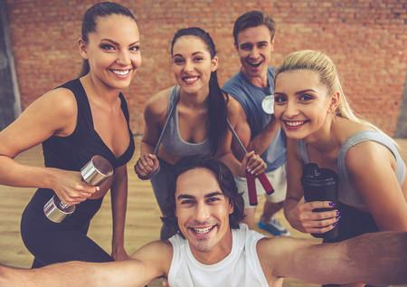 Selfies Gym Telcel C