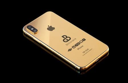 Si quieres tu iPhone de 2018 en oro de 18k ya puedes reservarlo, por 114.000 euros