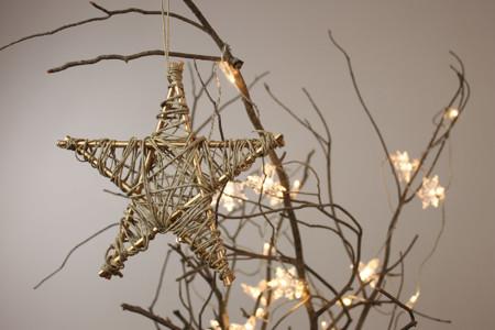 Hazlo tu mismo: el DIY de cómo hacer una estrella de Navidad
