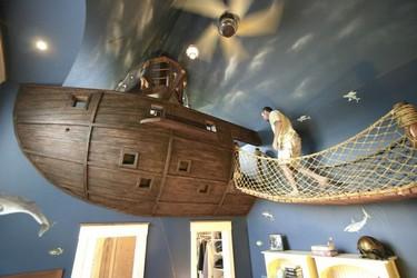 Una habitación para pasárselo pirata