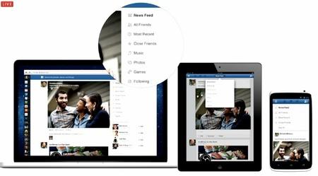 Facebook quiere dar más protagonismo a las fotografías en su nuevo diseño