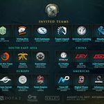 Estos son los 18 equipos que estarán en The International 7