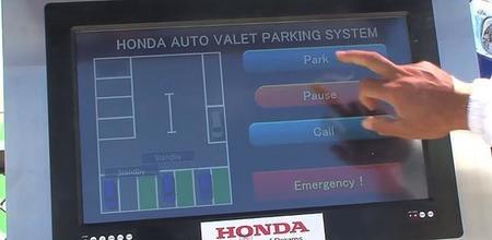 Honda presenta su sistema de estacionamiento automatizado sin conductor (con vídeo)