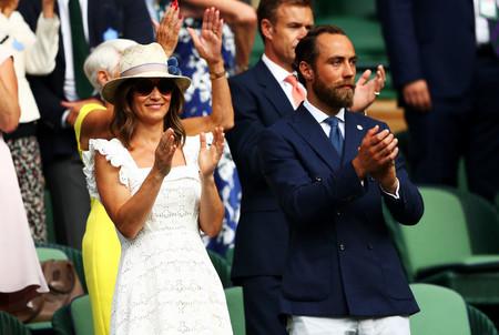 James Middleton Luce El Perfecto Look Elegante Sport En El Torneo De Wimbledon 2