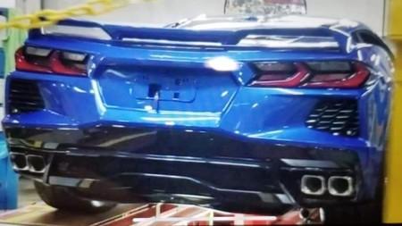¡Filtrado! El Chevrolet Corvette 2020 no pudo esperar al 18 de julio