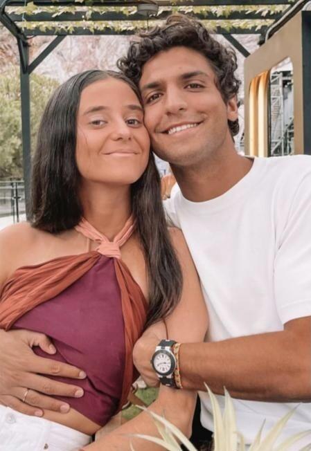 Tomás Páramo y Victoria Federica en Instagram