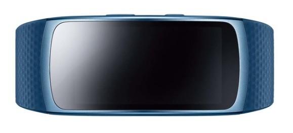 Pulsera de actividad Samsung Gear Fit 2 Azul Talla L