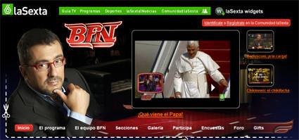 Otra web más de Buenafuente