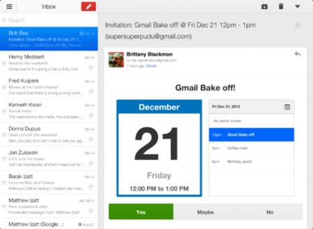 Gmail 2.0 para iOS, ya era hora