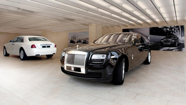 Rolls-Royce en Hyderabad