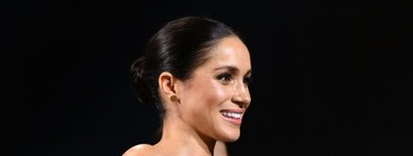 El perfecto look de fiesta de Meghan Markle en los British Fashion Awards 2018