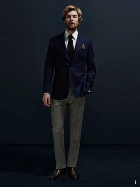 La elegancia y el buen vestir, juntas de la mano en la temporada Otoño-Invierno 2014/2015 de Aquascutum