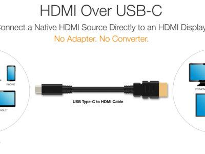 El USB Tipo C y el HDMI unen fuerzas para mejorar la conectividad entre nuestros dispositivos