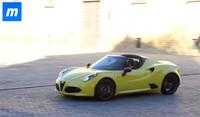 Alfa Romeo 4C Spider, después de las fotos llega el vídeo