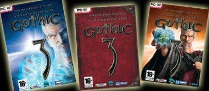 Elige la portada que quieres que tenga Gothic 3