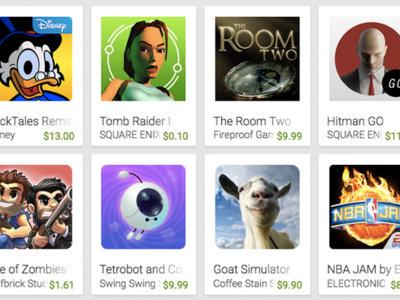 Apps con hasta 90% de descuento en Google Play