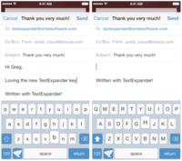 TextExpander tendrá su propio teclado en iOS 8