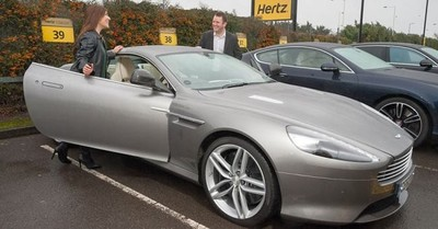 Hertz lanza la Dream Collection en el Reino Unido. Aston Martin, Bentley... no renuncies a nada en tus viajes