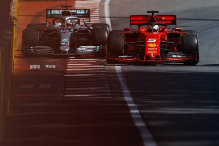 Hamilton Vettel Canada F1 2019