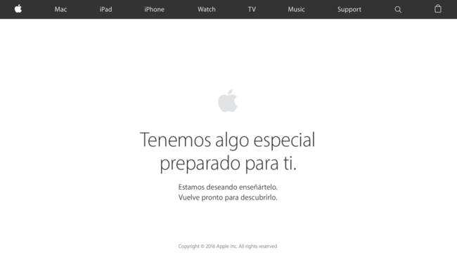 Apple Store Online cerrada: en unas horas tendremos nuevos dispositivos a la venta