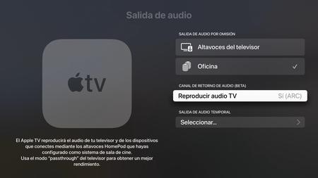 Apple TV Audio