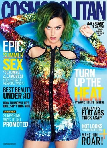 Cómo protagonizar 62 portadas de Cosmopolitan a la vez, por Katy Perry