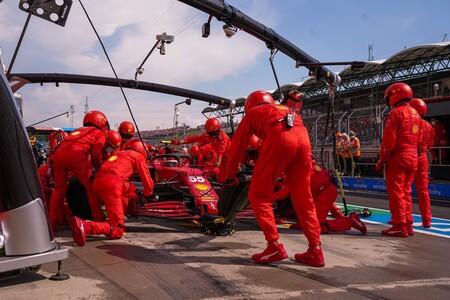 Sainz Hungria F1 2021 2