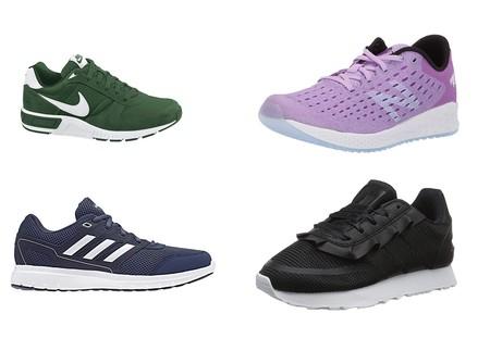 Chollos en tallas sueltas de zapatillas Nike, New Balance y Adidas en Amazon