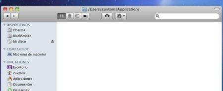 Mostrar ruta en Finder barra superior