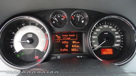 Peugeot RCZ 2013 2.0 HDi, consumo