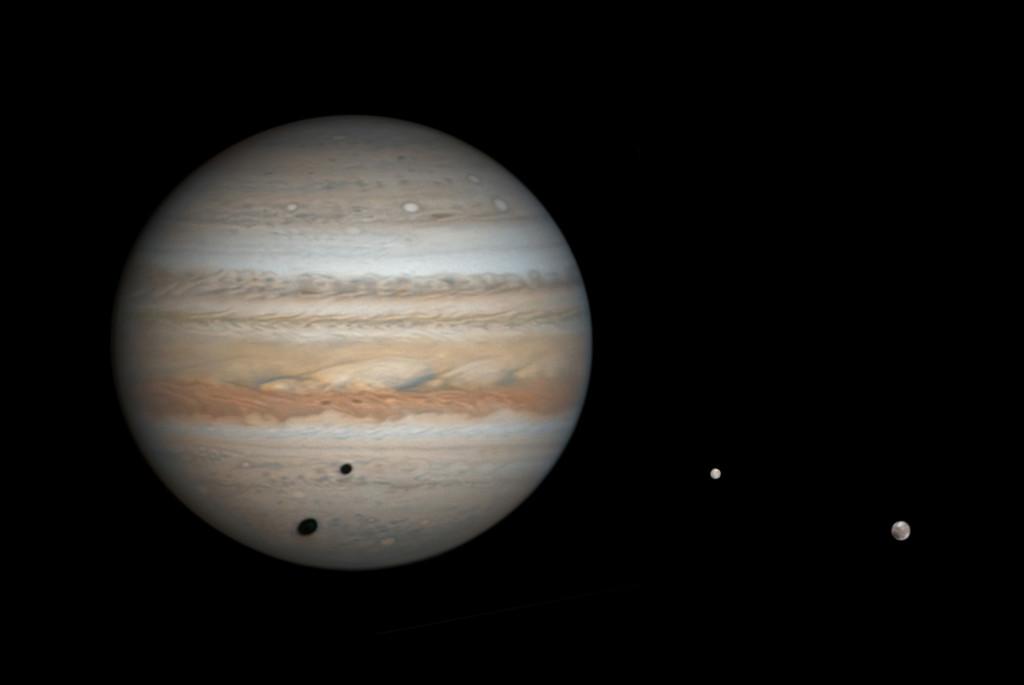 Un nuevo estudio estima que orbitando a Júpiter habría unas 600 lunas (todas de más de un kilómetro)