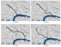 El algoritmo que no encuentra el camino más corto, sino el más bello en la ciudad