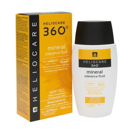 Heliocare 360 Mineral Tolerance Fluid Spf50 Plus 50ml