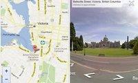 Google habilita Street View para sus mapas versión web