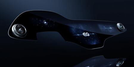 Mercedes-Benz desvela la megapantalla para la berlina eléctrica EQS: 2.432 centímetros cuadrados de superficie con IA