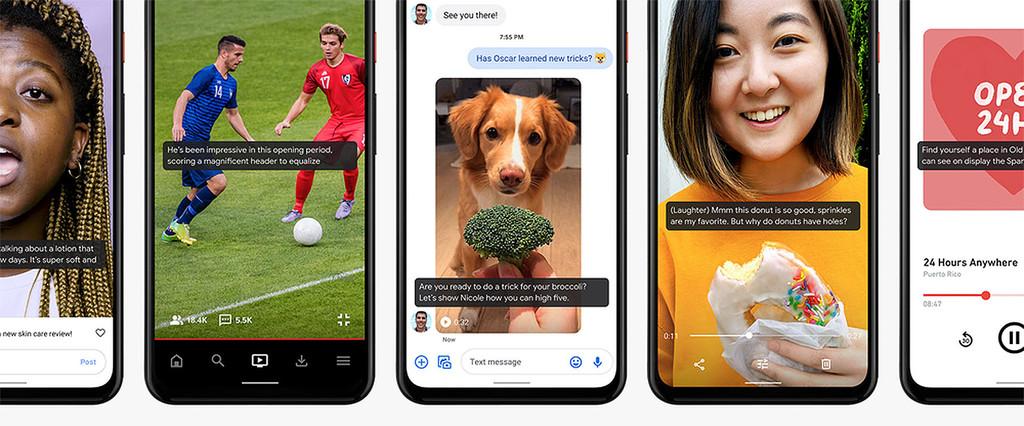 Google Live™ Caption estrena en los Pixel, el año que viene asistirá a mas móviles
